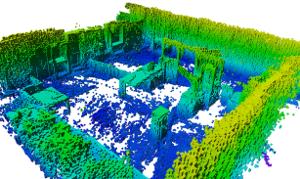 OctoMap 3D scan dataset - Arbeitsgruppe: Autonome Intelligente Systeme